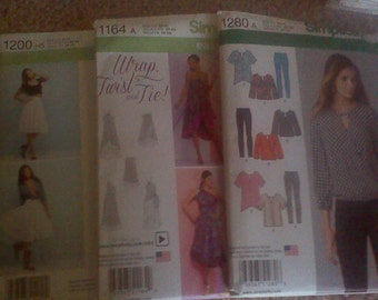 NEW Uncut Simplicity Patterns