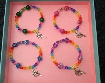 Rainbow Fairy Bracelet