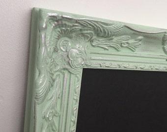 Shabby Chic Chalkboard, Wedding Chalkboard, Ornate ChalkBoard, Baroque Chalkboard, Bridal Sign Seating Chart, Wood Frame, Nursery Wall Decor