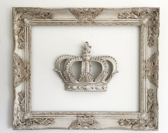 Wall Frame Gallery Picture Frames For Sale Shabby Chic Wedding Photo Prop Frame with Glass ( crown not included)