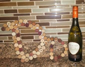 Wine Cork letters A-Z, Cork Letter, Wine Corks, Cork Letters, Font Cursive
