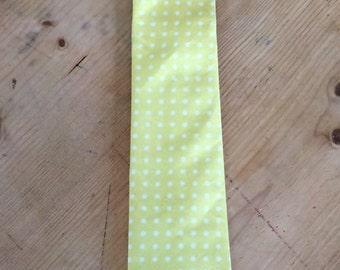 Bespoke mens neck tie