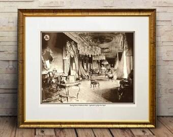 Drawing Room at Falaknuma Palace - Hyderabad  by Raja Deen Dayal