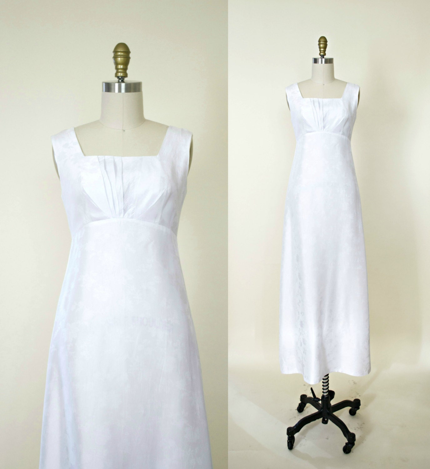 1950s Wedding Gown: Vintage 1950s Wedding Dress And Jacket Set. By