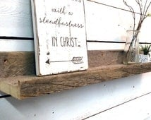 Barn Wood Floating Shelves, Wall Shelve, Picture Ledge, Picture Shelf, Rustic Wall Shelves, Driftwood, Barnwood Shelf, Barn Wood Shelves