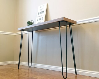 hairpin legs etsy de. Black Bedroom Furniture Sets. Home Design Ideas