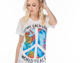 World Peace Crew Neck
