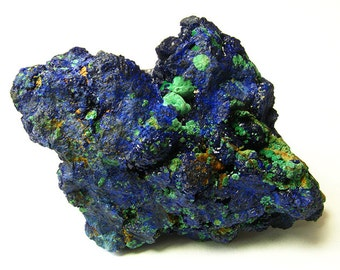 Rare Large 87mm Bisbee AZ Estate Azurite Malachite Specimen w/ Provenance - Free US Shipping!
