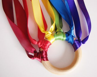 Pretend Play Toys - Hand Kite - Pretend Play - Muted Rainbow