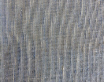 linen look cotton fabric  - light blue, yellow or blue