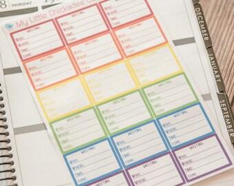 FN22 - Meetings Stickers