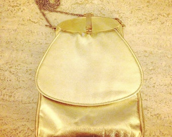 1950s Harry Levine Gold Evening Bag