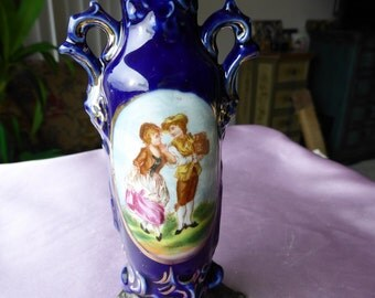 Sweet little Sevres  Vase from France