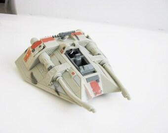 Vintage 1996 Star Wars Snowspeeder Star wars action Fleet