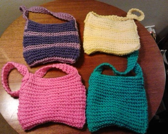 Adorable Children's Knit Purses (Select Color)