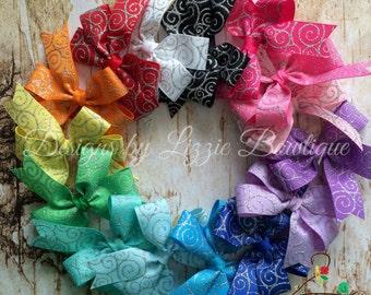 """3"""" Pinwheel bow Set"""