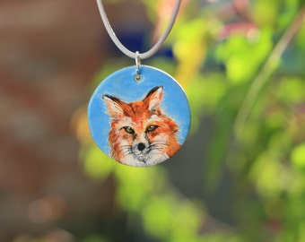 Fox Spirit Animal Necklace