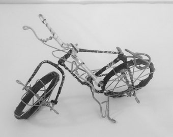 mini bicycle - 100% recycled materials