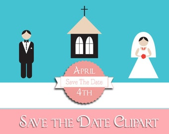 wedding clipart, wedding clip art, clipart wedding, wedding flowers, wedding invitation clip art, wedding invitation, save the date clip art