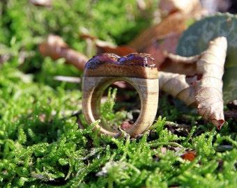 oak wooden ring