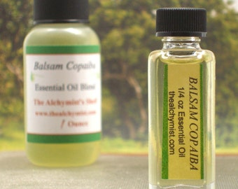 Balsam Copaiba Essential Oil Brazil Craft Wicca