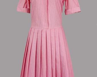 1980S LAURA ASHLEY sailor dress---10/12
