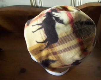 Mans Fleece hats with fleece lining for warmth