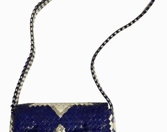recycled shoulder bag