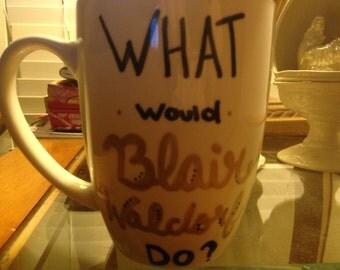 Gossip Girl cup/ Blair Waldorf Cup/ Gossip Girl/ GG/