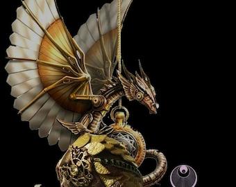Steampunk Dragon egg