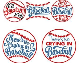 Baseball Cuttable Designs