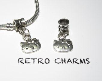 Sterling Silver Hello Kitty Retro Charm