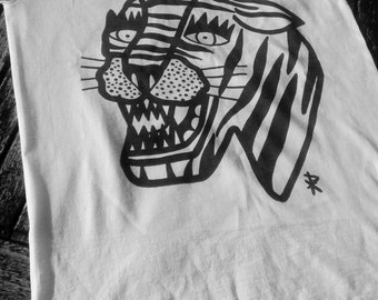 Traditional Tiger Tshirt