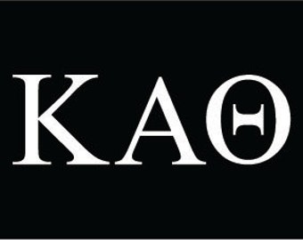 kappa alpha theta sorority greek letters decal vinyl window bumper car laptop sticker any size any color free shipping worldwide