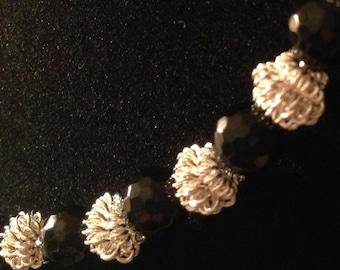 Italian Leather Sofa Necklace