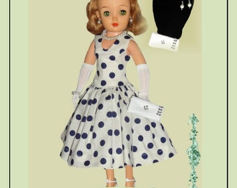 Doll Clothes PDF Pattern for Vintage 18'' Miss Revlon Doll by NVME