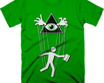 Controlled Population T-Shirt. Free Shipping.