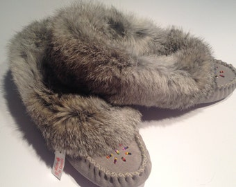 Sleepers mocassins with fur