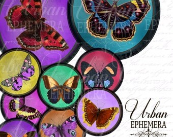 Printable Butterfly Ball Journal Discs