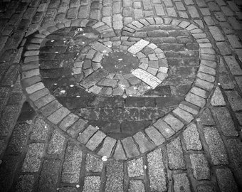 Edinburgh, Scotland Heart Photography Print