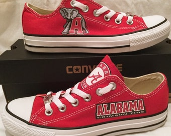 University of Alabama Converse Chuck Taylor Sneakers NCAA
