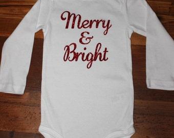 Baby/toddler Christmas shirt/onesie
