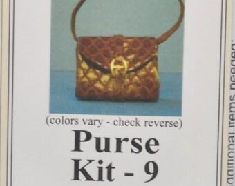 1:12 Dollhouse Miniature Purse Kit PK9