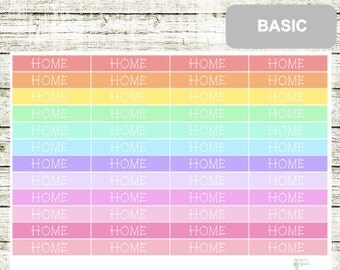 B44 Headers HOME, perfect for any planner