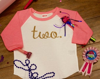 Girls Second Birthday Shirt, Girls Second Birthday, 2nd Birthday Shirt; Girls 2nd Birthday, Two, Two Birthday Shirt