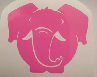 Elephant vinyl decal