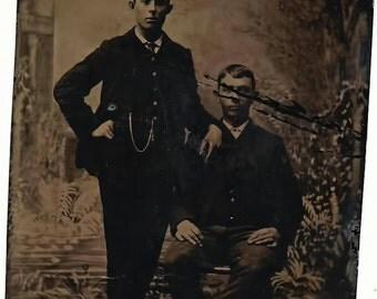 Vintage Tintype Photo