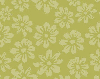 Riley Blake Country Harvest Daisy Green - 1 yard