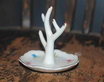 Small Vintage Ring Dish Made in Japan from W. Rice and Company