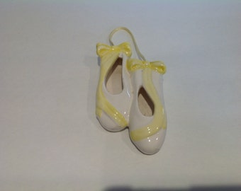 Ceramic Hanging Ballet Slippers